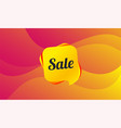 sale sign icon special offer symbol vector image vector image