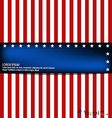 American flag card vector | Price: 1 Credit (USD $1)