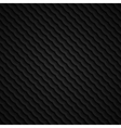 black 3d seamless wavy pattern vector image