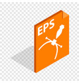 eps file format isometric icon vector image