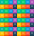 Flat boxes seamless background vector image vector image