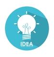 idea icon vector image vector image