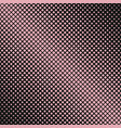 Retro abstract halftone square pattern background