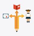 school emblem vector image