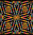 trtibal greek seamless pattern ethnic ornamental vector image