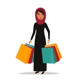 Woman with shopping bags Shop sale vector image vector image