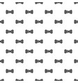 bow tie in the box pattern seamless vector image vector image