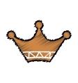 Crown royal symbol vector image vector image