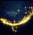 festival glitter background for christmas season vector image vector image