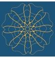 Mandala Tattoo Mehndi Style Basis for vector image vector image