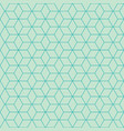 polygon pattern vector image