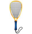 Racketball vector image vector image