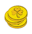 saint patricks day related icon image vector image vector image
