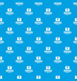 underpant male pattern seamless blue vector image vector image
