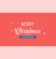 christmas sale banner background design template vector image