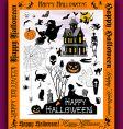 halloweentown vector image