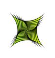Fractal design element for web vector image vector image