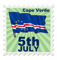national day of Cape Verde vector image vector image