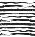 striped hand drawn seamless background vector image