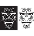 tattoo mask vector image