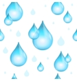 Rain Drop Seamless Pattern Background vector image