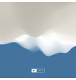 Abstract Landscape Background 3d terrain vector image vector image