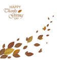 autumn background colorful autumn leaves can be vector image vector image