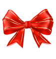 Beautiful big bow vector image vector image