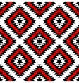 Black red and white aztec ornaments geometric vector image vector image