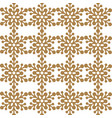 drawing of seamless pattern with white snowflakes vector image