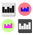 Equalizer flat icon
