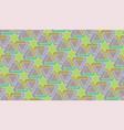 islamic geometric seamless pattern vector image vector image