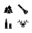 poaching simple related icons vector image