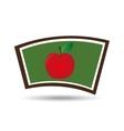 school board icon apple design vector image vector image