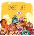 Sweet Sketch vector image