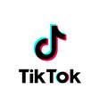 tik tok social network icon odessa ukraine vector image vector image