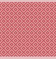 winter scandinavian christmas x-mas knitted vector image