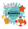 best summer vector image vector image