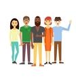 Business team people group portrait website vector image vector image