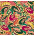 Colourful seamless Indian paisley pattern