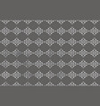 gray background with white vegetable ornament for vector image vector image