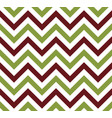 green and brown chevron retro decorative pattern vector image vector image