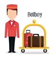 hotel service design vector image vector image
