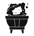 magic smoke bowl icon simple style vector image vector image