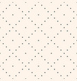 minimalist seamless pattern with tiny squares vector image vector image