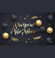 prospero anno nuevo spanish new year golden vector image vector image