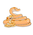 snake with cub vector image
