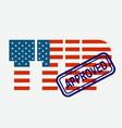 ttip - transatlantic trade investment partnership vector image