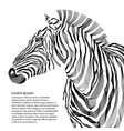 Animal of zebra silhouette