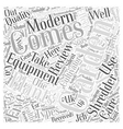 BW modern gardening equipment Word Cloud Concept vector image vector image